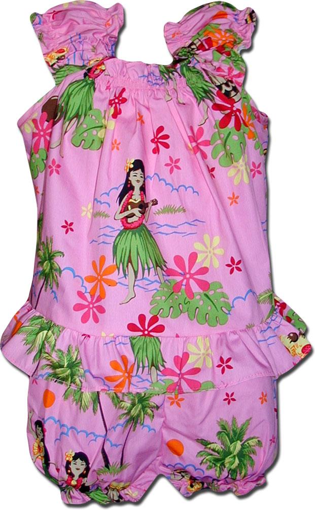 5b1eeaddeed1 176-3660 Pink Pacific Legend Infant Romper Set