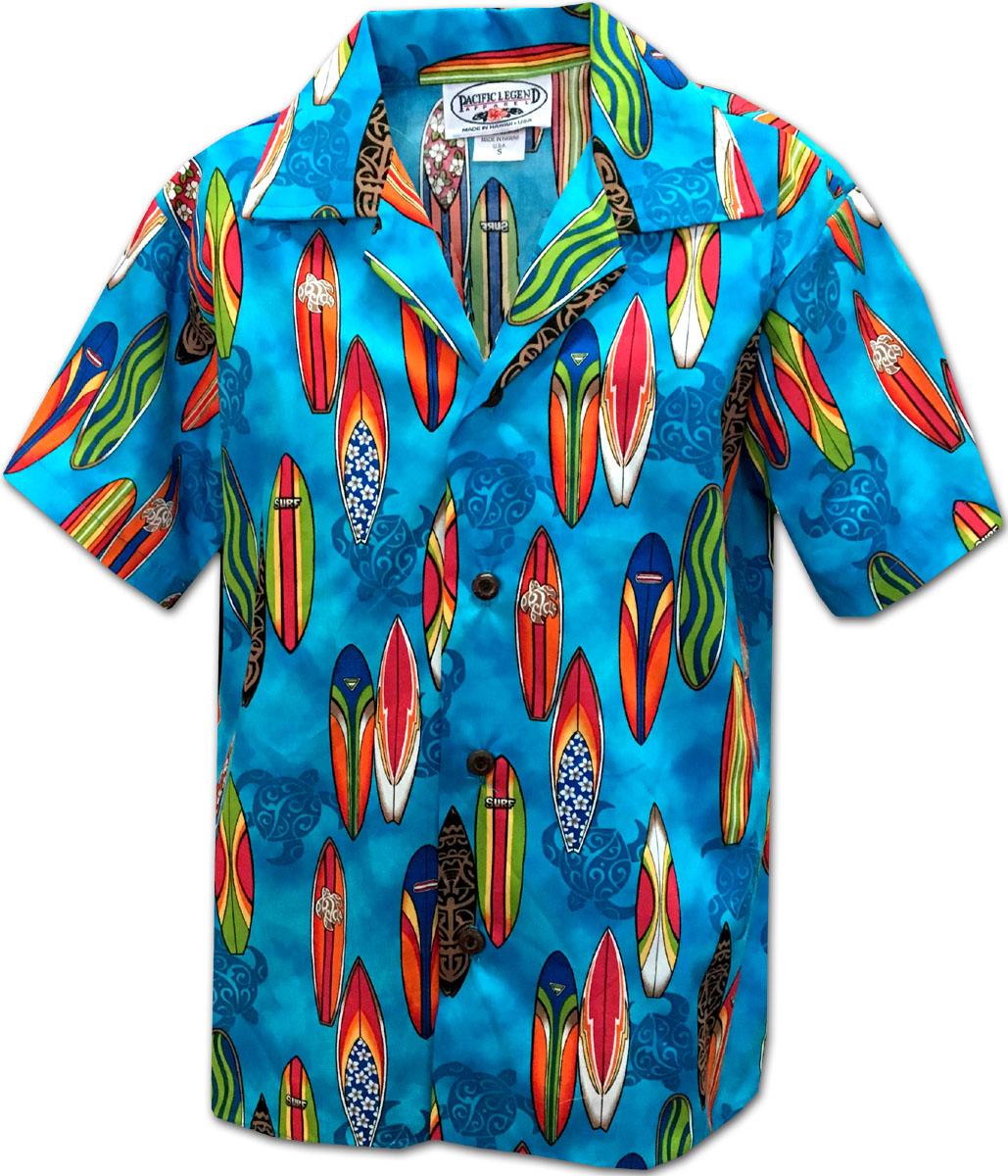 ed6ff291 211-3860 BLUE Pacific Legend Boys Shirt