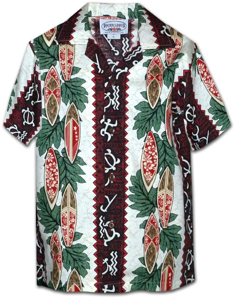 b9d64a18 211-2750 Red Pacific Legend Boys Shirt