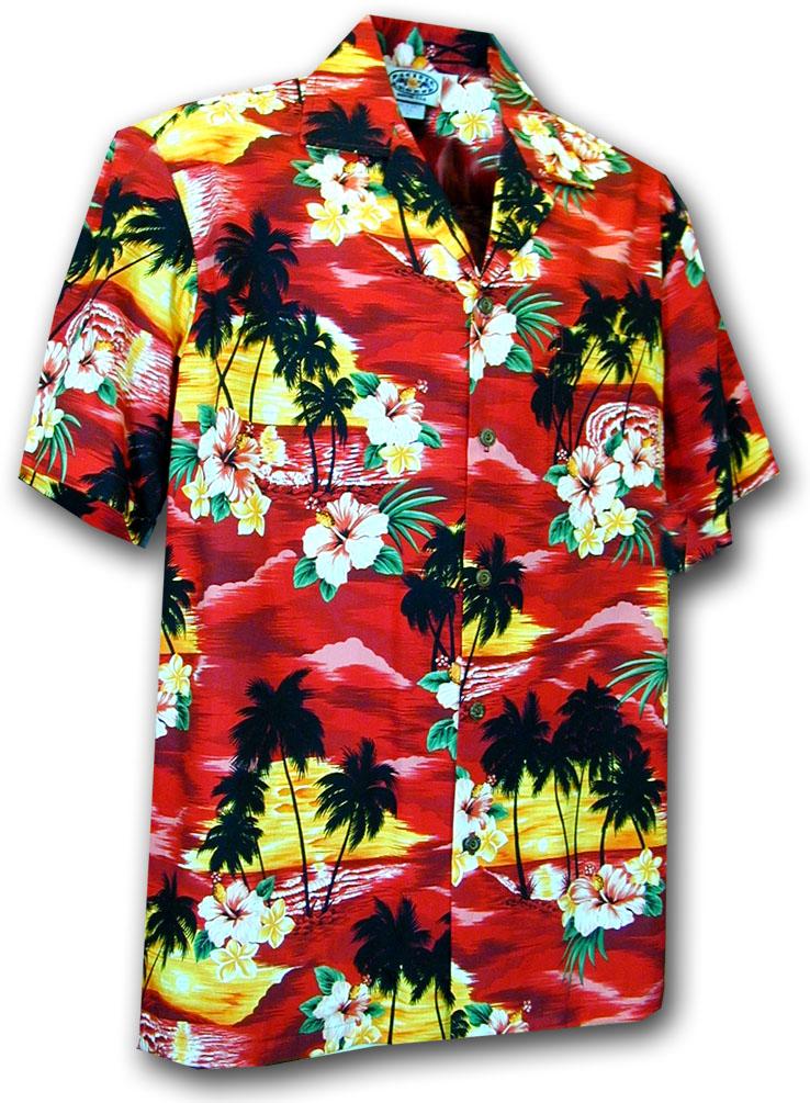 67684269 211-3104 Red Pacific Legend Boys Shirt
