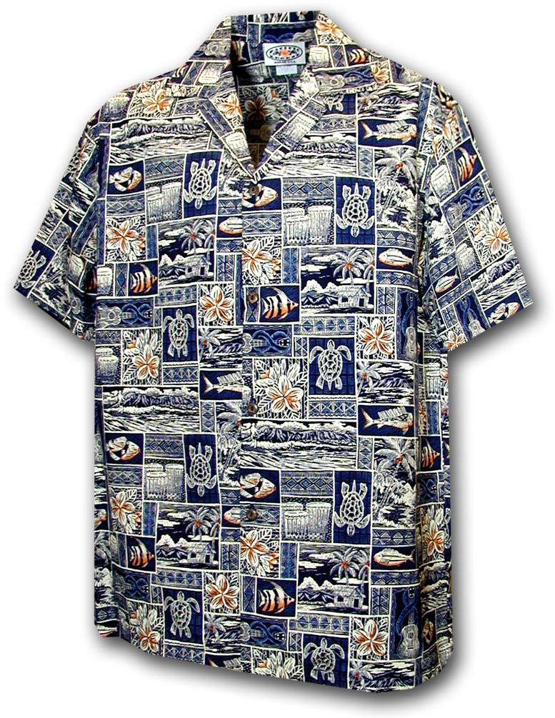 ff71bedb 211-4762 Navy Pacific Legend Boys Shirt