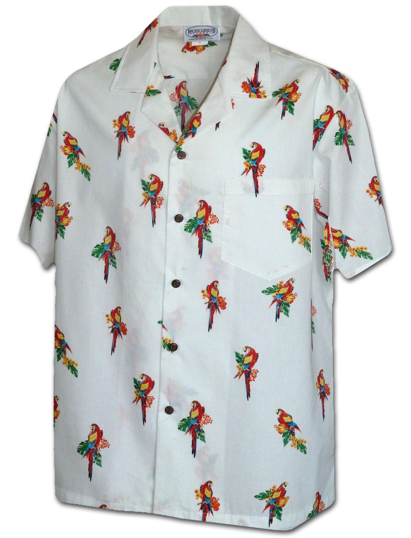 410 3912 White Men 39 S Pacific Legend Hawaiian Shirts