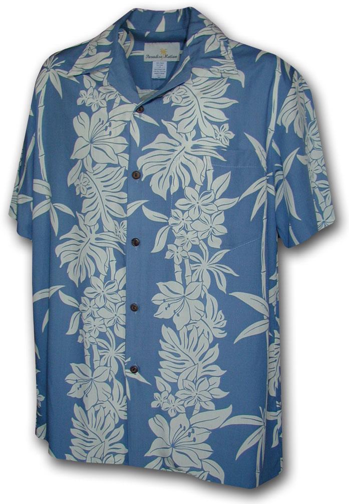 470 105 slate paradise motion men 39 s rayon hawaiian shirts for Mens rayon dress shirts