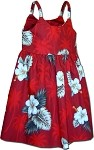 130-2798 Red Pacific Legend Todders Cute Dress