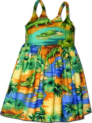 130-3132 Blue Pacific Legend Todders Cute Dress