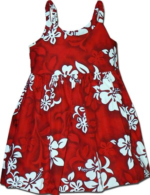 130-3156 Red Pacific Legend Todders Cute Dress