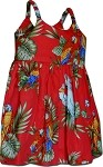 130-3531 Red Pacific Legend Todders Cute Dress
