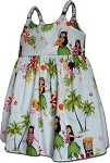 130-3660 White Pacific Legend Todders Cute Dress