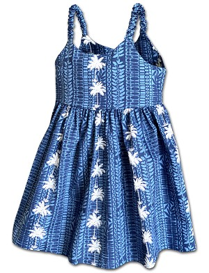 130-3662 NAVY Pacific Legend Todders Cute Dress