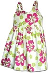 130-3731 White Pacific Legend Todders Cute Dress