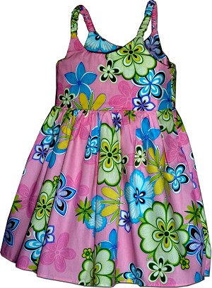 130-3795 Pink Pacific Legend Todders Cute Dress