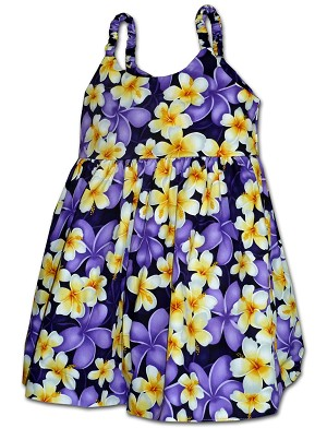 130-3932 Purple Pacific Legend Todders Cute Dress