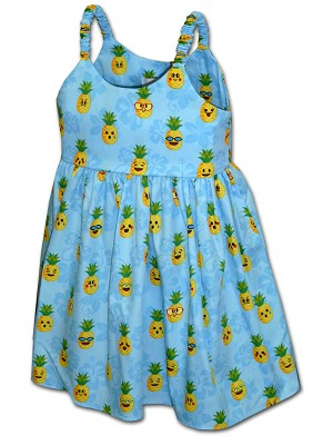 130-3982 BLUE Pacific Legend Todders Cute Dress