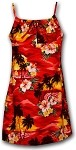 166-3104 Red Pacific Legend Youth Spaghetti Dress