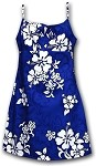 166-3156 Blue Pacific Legend Youth Spaghetti Dress