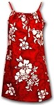 166-3156 Red Pacific Legend Youth Spaghetti Dress