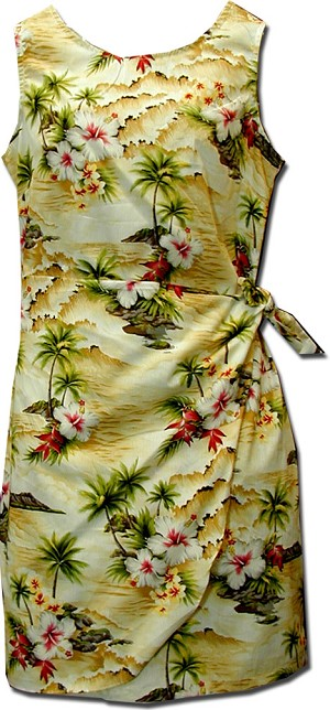 172-3238 Maize Pacific Legend Youth Sarong Dress