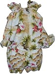 176-3238 Maize Pacific Legend Infant Romper Set
