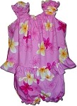 176-3618 Pink Pacific Legend Infant Romper Set