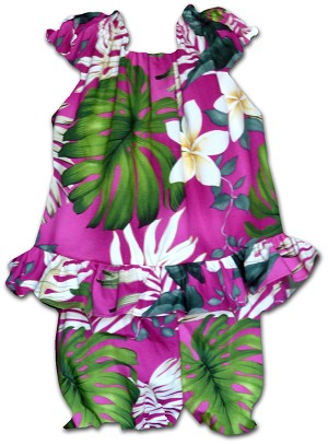 176-3688 Pink Pacific Legend Infant Romper Set