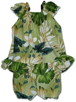 176-3688 Sage Pacific Legend Infant Romper Set