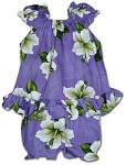 176-3686 Purple Pacific Legend Infant Romper Set