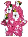176-3954 Pink Pacific Legend Infant Romper Set