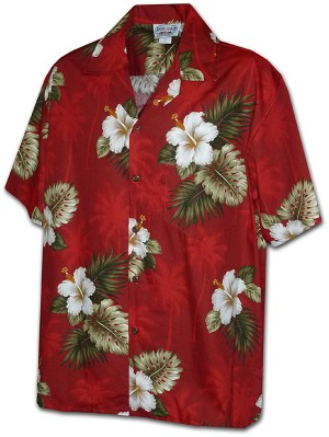 211-2798 Red Pacific Legend Boys Shirt