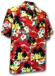 211-3104 Red Pacific Legend Boys Shirt