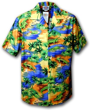 211-3132 Blue Pacific Legend Boys Shirt