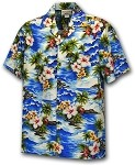 211-3238 Blue Pacific Legend Boys Shirt