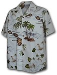 211-3614 White Pacific Legend Boys Shirt
