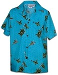 211-3713 Turquoise Pacific Legend Boys Shirt