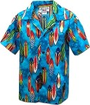211-3860 BLUE Pacific Legend Boys Shirt