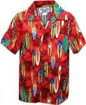 211-3860 RED Pacific Legend Boys Shirt
