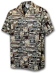 211-4762 Brown Pacific Legend Boys Shirt