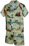 220-3769 Khaki Pacific Legend Todder Boys Set