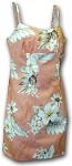 306-3162 Peach Pacific Legend Short Spaghetti Dress