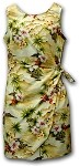 313-3238 Maize Pacific Legend Ladies Sarong Dress
