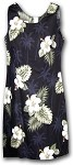 315-2798 Black Pacific Legend Short Tank Dress