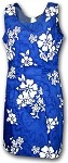 315-3156 Blue Pacific Legend Short Tank Dress