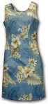 315-3162 Blue Pacific Legend Short Tank Dress