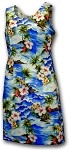 315-3238 Blue Pacific Legend Short Tank Dress