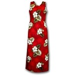 321-2798 Red Pacific Legend Long Tank Dress