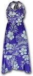 328-3589 Purple Pacific Legend Ladies Halter Dress