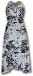 328-3589 White Pacific Legend Ladies Halter Dress