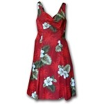 330-2798 Red Pacific Legend Ladies Sun Dress