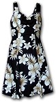 330-3559 Black Pacific Legend Ladies Sun Dress