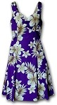 330-3559 Purple Pacific Legend Ladies Sun Dress