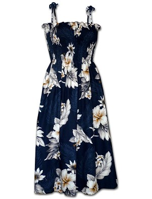 332-3162 Navy Pacific Legend Tube Dress